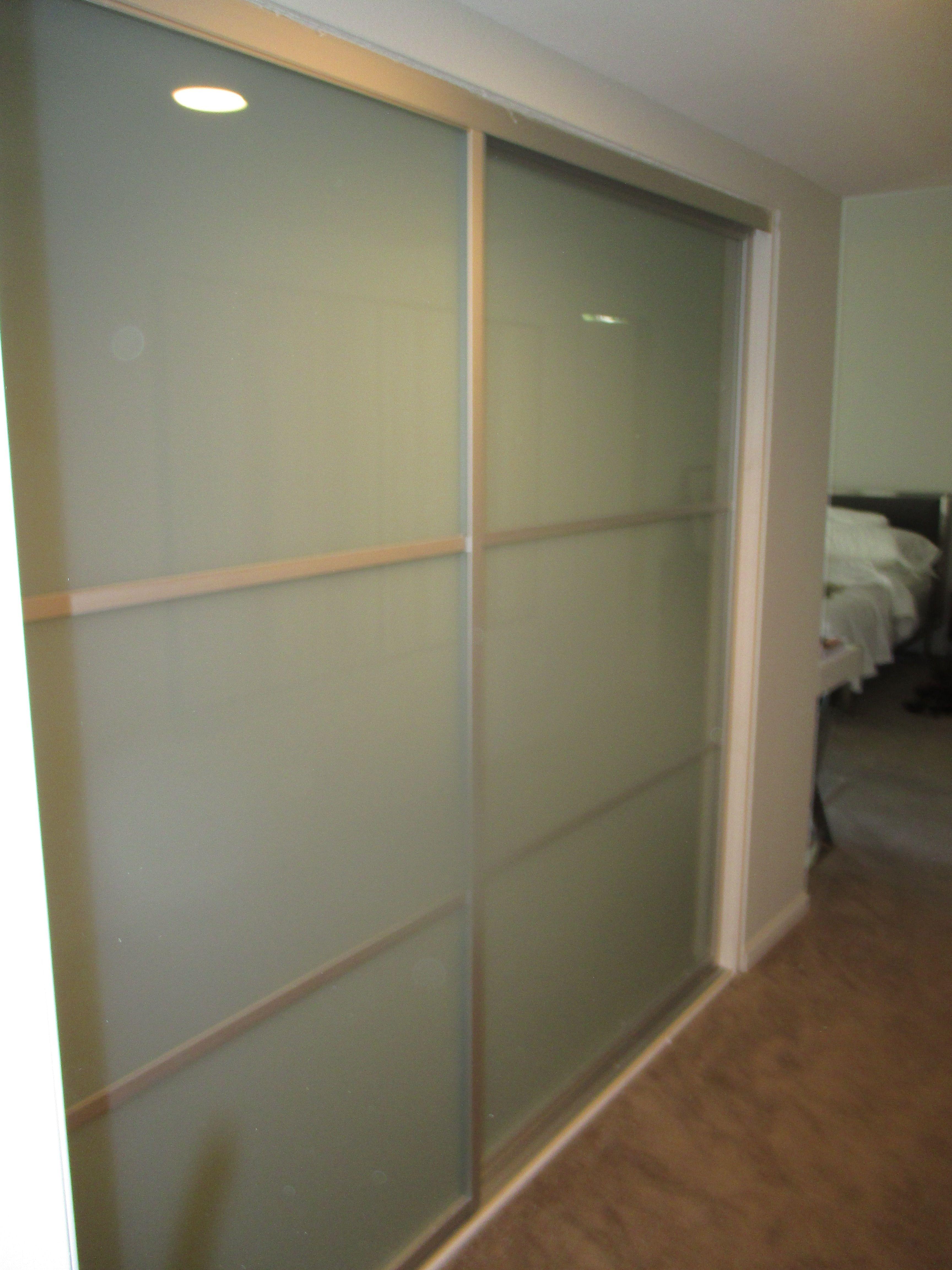 Good Buy GOLD Closet Doors. Hello Modern Brushed Nickel Mirror ...
