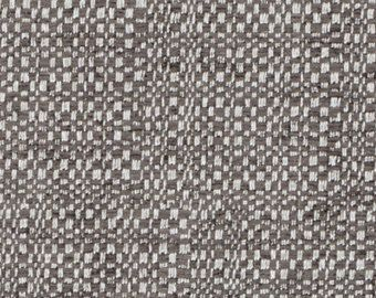 Silver Grey Upholstery Fabric Taupe Ivory By PopDecorFabrics