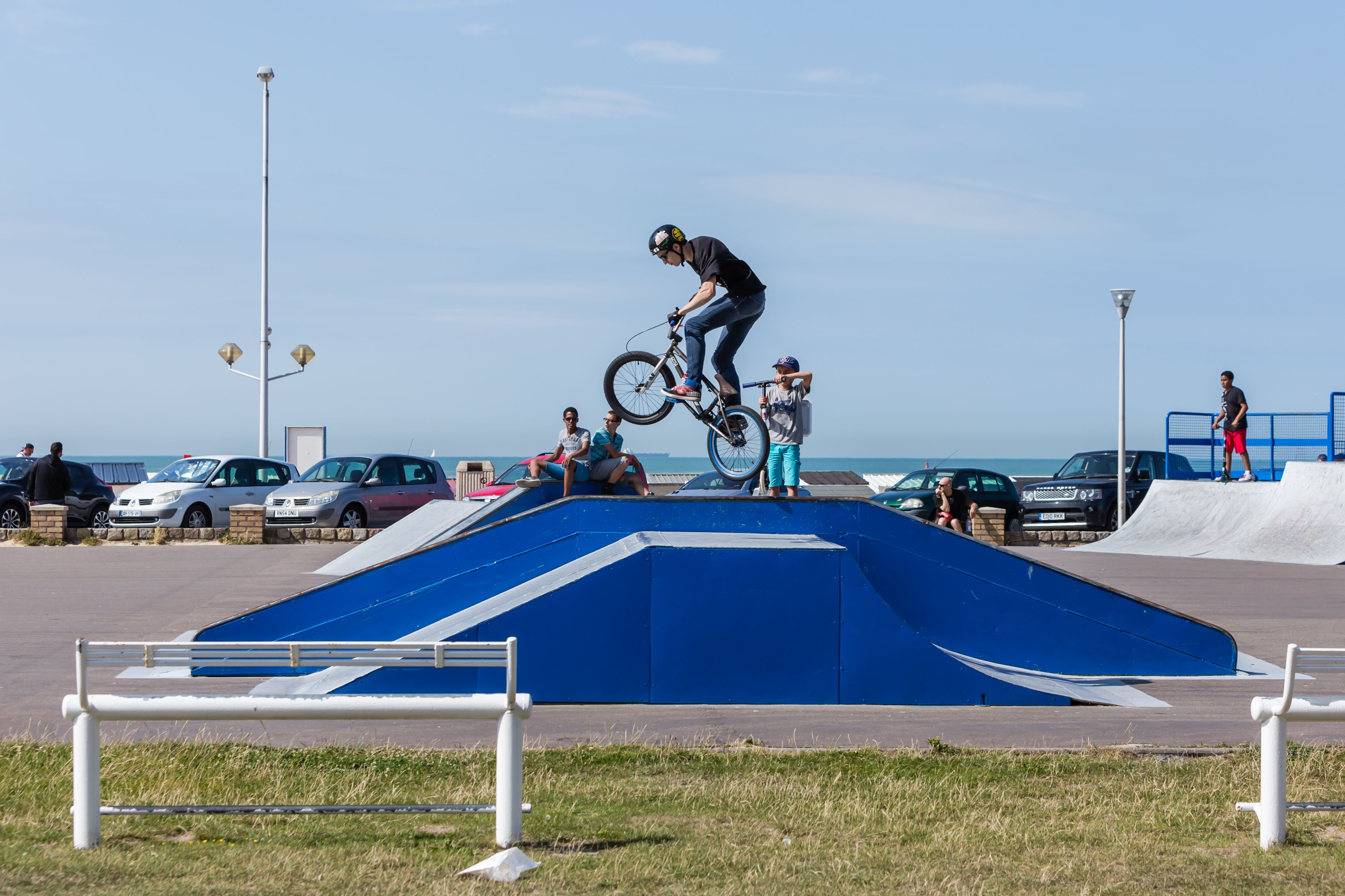 Skate Park De La Plage   Accès Libre Digue Gaston Berthe, 62100 Calais
