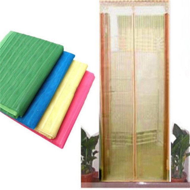 High Quality New Style Hands-Free Magic Mesh Screen Door Magnetic Anti Mosquito Bug Doors Curtain