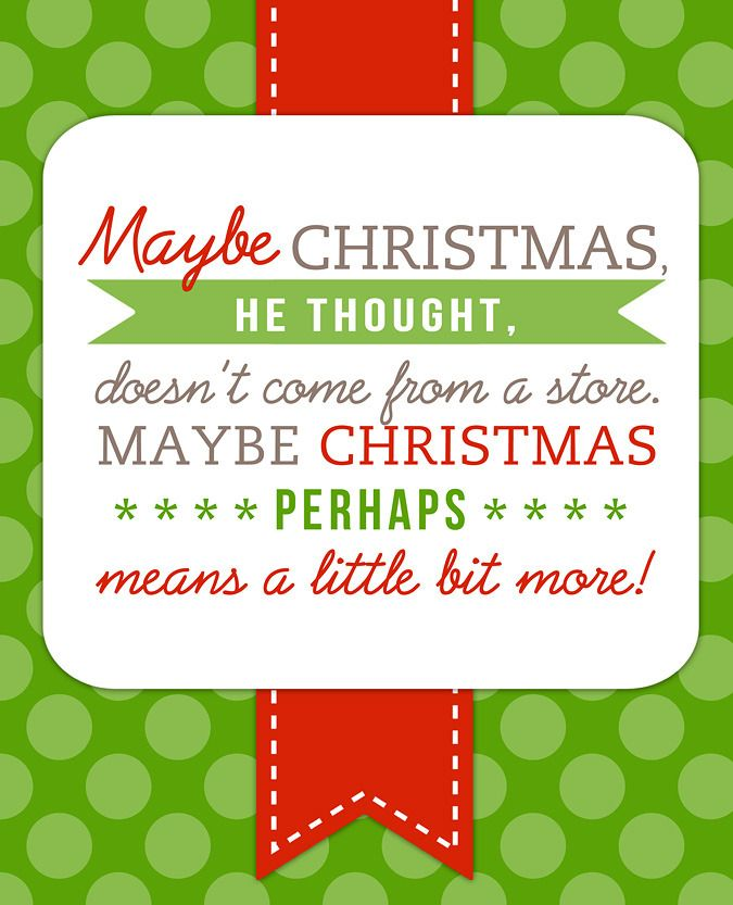 free printable dr seuss christmas quote