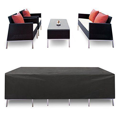Housse étanche pour meubles Essort u2013 Pour meubles de jardin, de - salon d angle de jardin