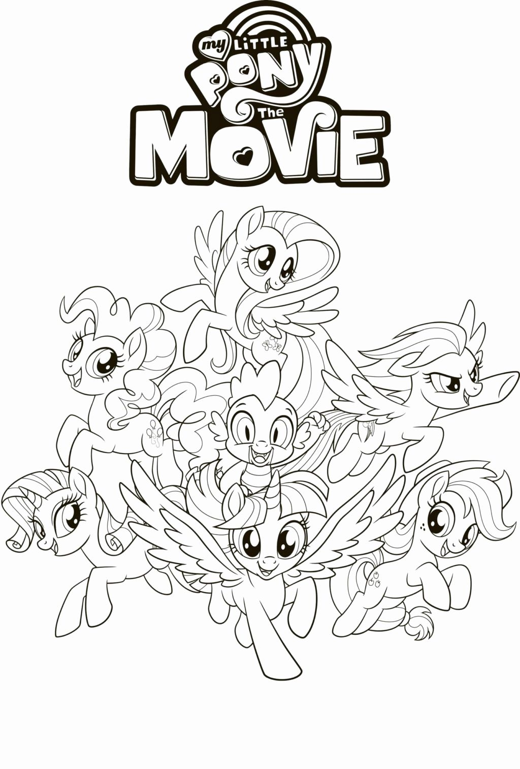Kids Coloring Rainbow Dash Pages In 2020 My Little Pony Coloring My Little Pony Movie My Little Pony Characters