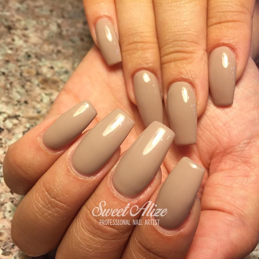 ColorSwatch: ORLY\'s Country Club Khaki in their GelFx! Acrylic nails ...