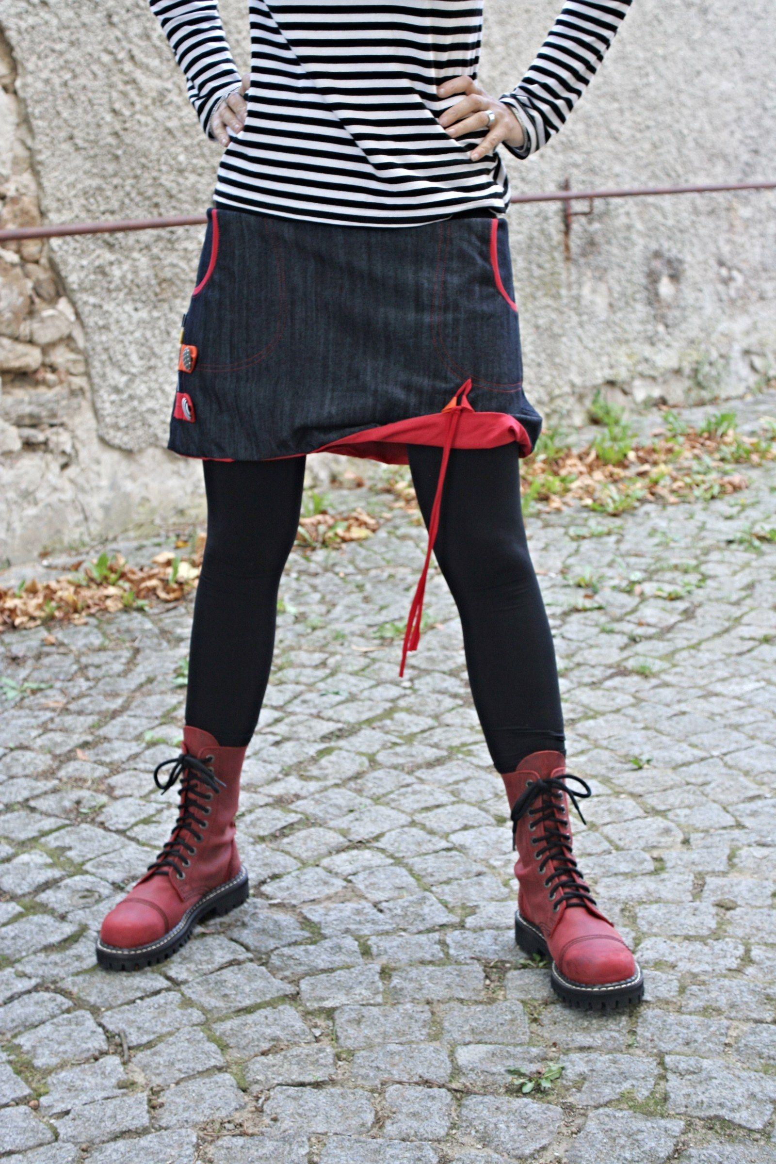 džínová balónová sukně ... Sukně je ušita z džínoviny - 100% bavlna ... 26bd426f0d
