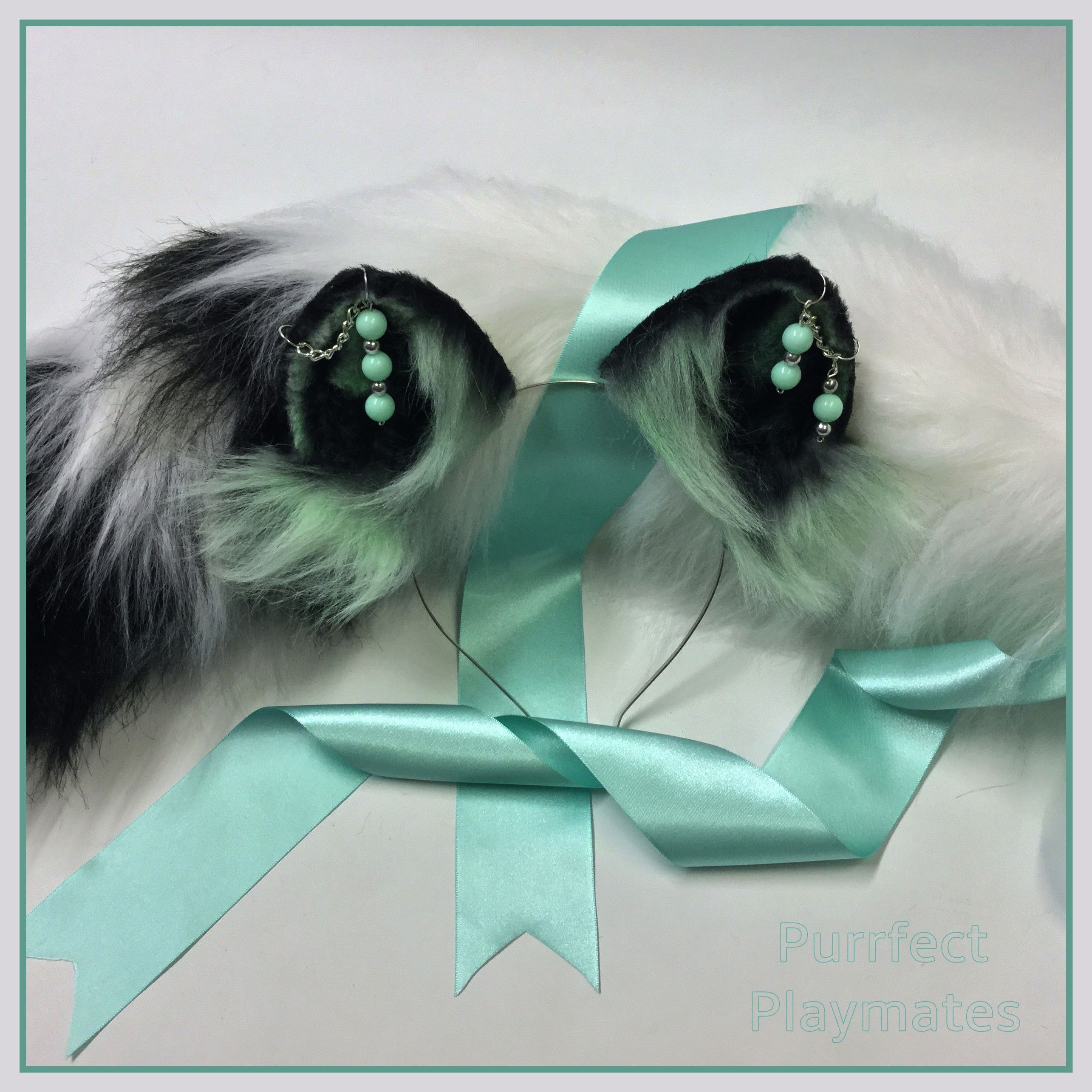 purrfectplaymates air brushed kitten play ears with