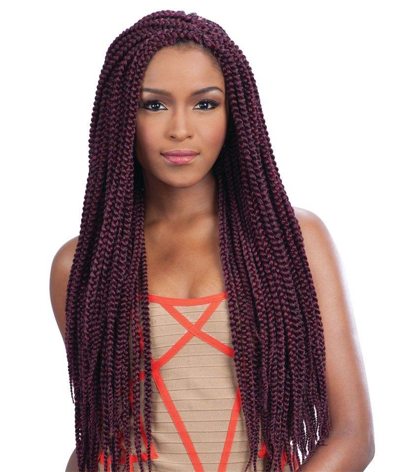 Freetress Crochet Braid Long Medium Box Braid Ebonyline New