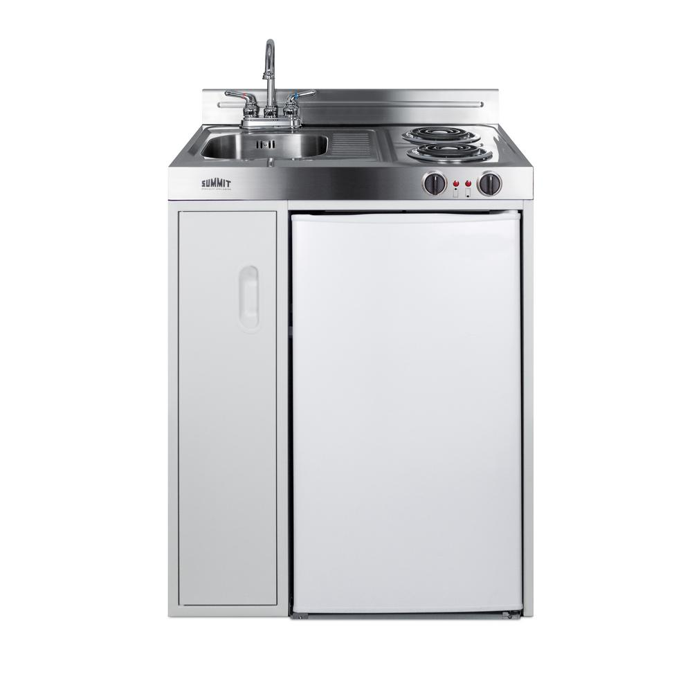 Summit Appliance 30 In Compact Kitchen In White