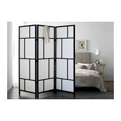IKEA RISR Room divider Made of solid wood which is a durable