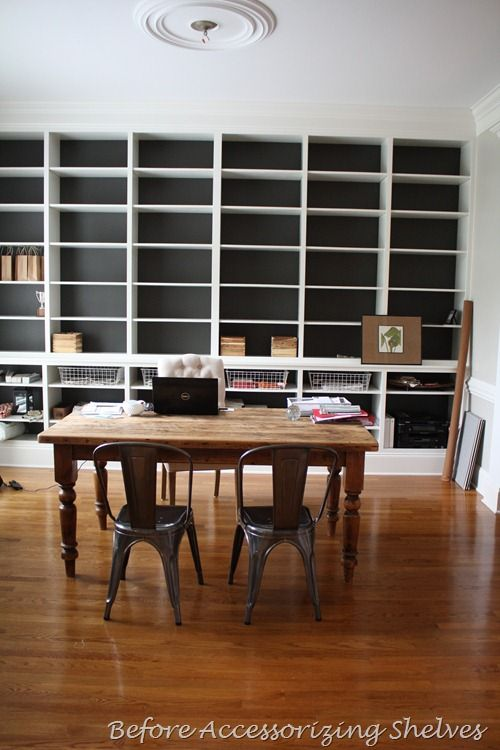finished office makeover. My Home Office Makeover: Finally Finished Makeover