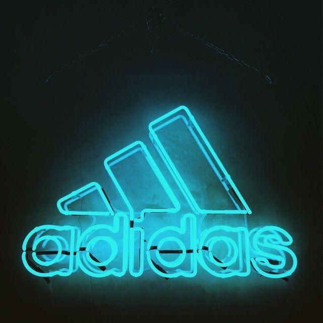 adidas neon sign | Tumblr
