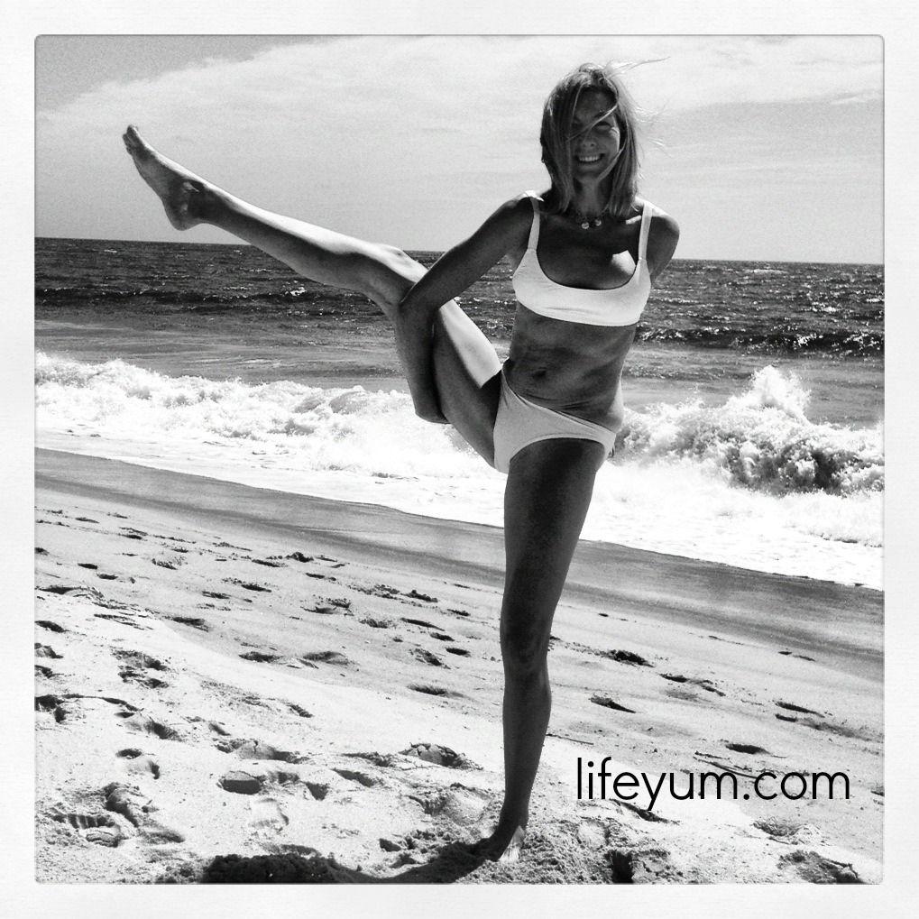 Oceanasana: yoga at the shore   Bird of paradise pose ...