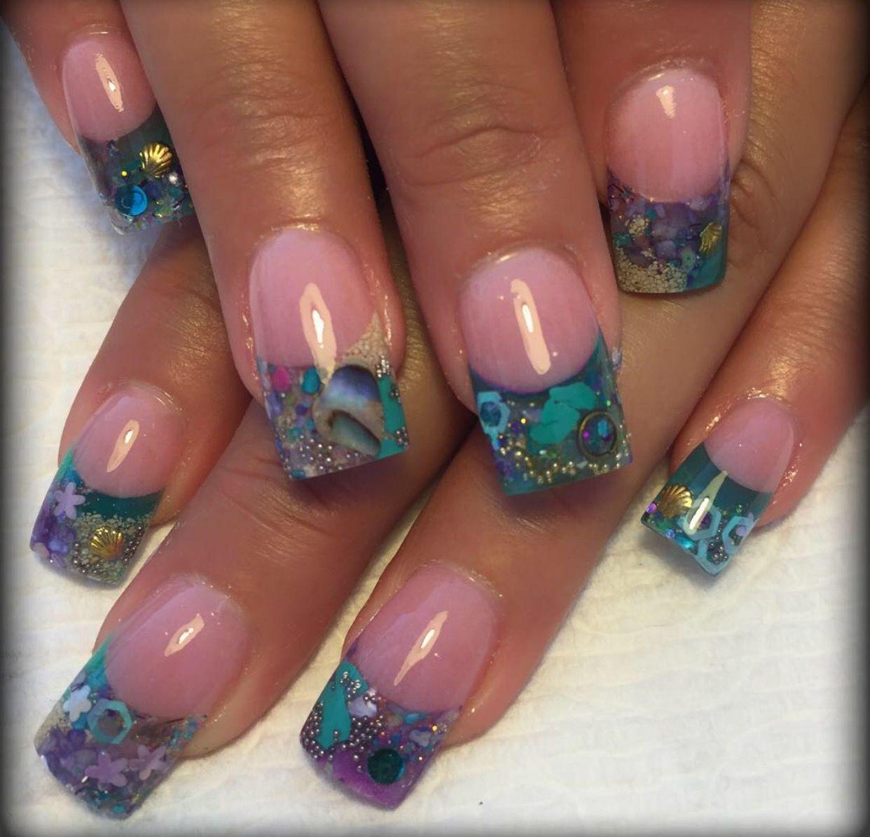 Encapsulated nails | Kanije Nails | Pinterest | Uñas encapsuladas ...