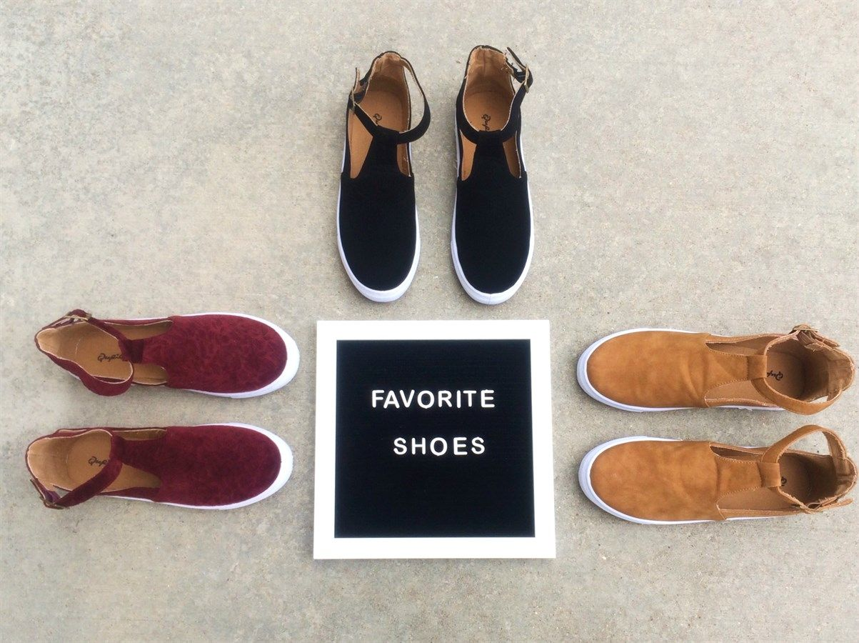Ankle Strap Sneaker
