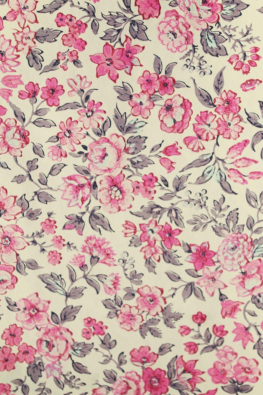 Vintage Floral Wallpaper The Villa On Mount Pleasant Tapices Florales De Epoca Fondo De Pantalla De Flores Vintage Fondo De Pantalla Rosado Para Iphone