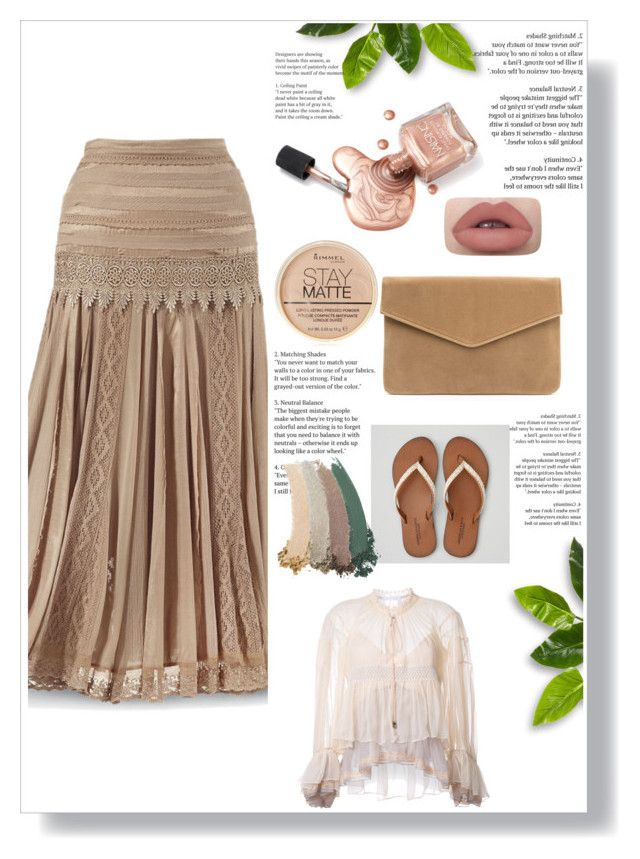 """""""summer"""" by the-vintage-palace2016 ❤ liked on Polyvore featuring American Eagle Outfitters, Chloé, Rimmel and Gucci"""