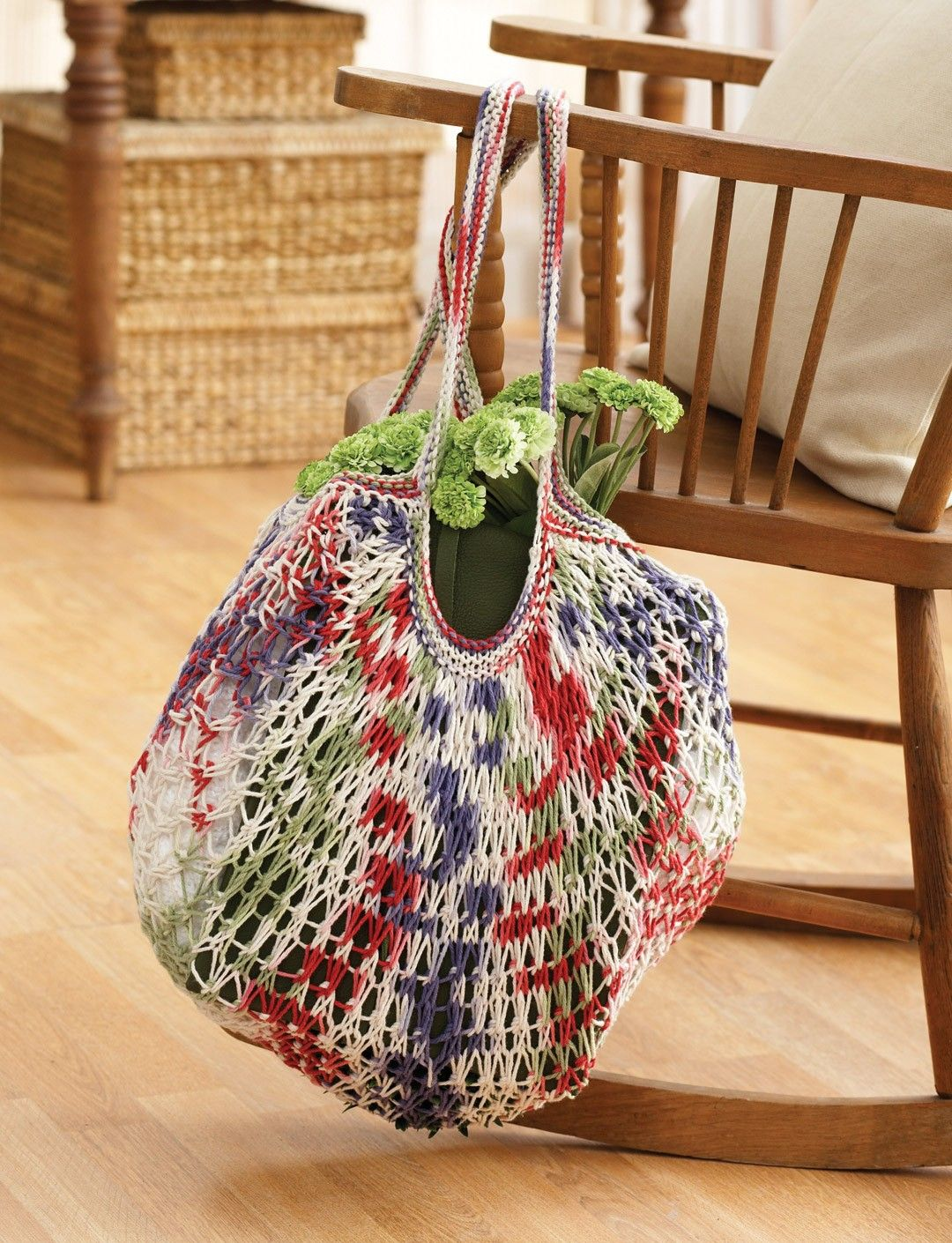 Yarnspirations.com - Lily Market Bag - Patterns | Yarnspirations ...