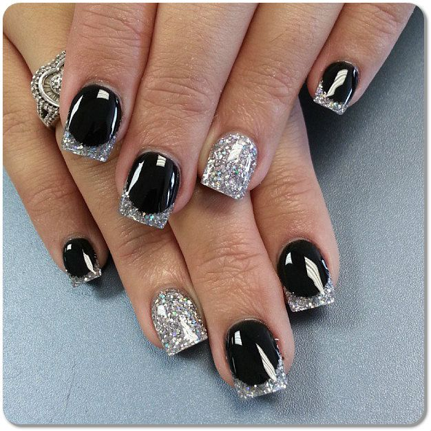 black and white nail designs - Google Search - Black And White Nail Designs - Google Search Nails Nails Nails