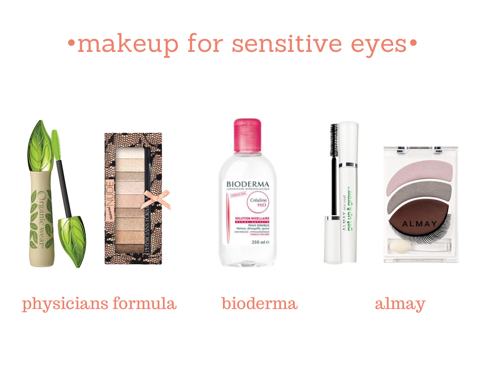 Makeup for sensitive eyes Hypoallergenic makeup