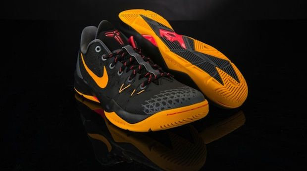 buy popular 2b025 2acdb Nike Zoom Kobe Venomenon 4 BlackGold-Crimson