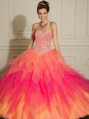 9d862764a modelos de vestidos de 15 años colorido