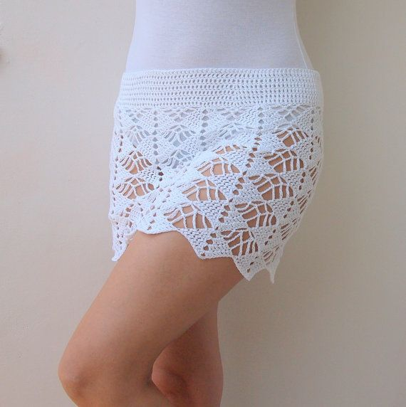 CROCHET PATTERN woman lace skirt women beach cover by AnaDdesign ...