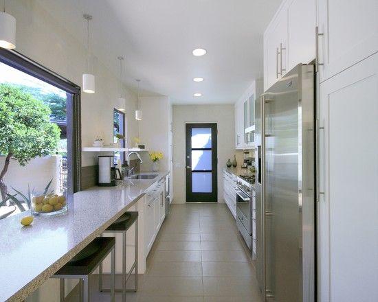 Best Galley Simple Kitchen Design Modern Kitchen Remodel 400 x 300