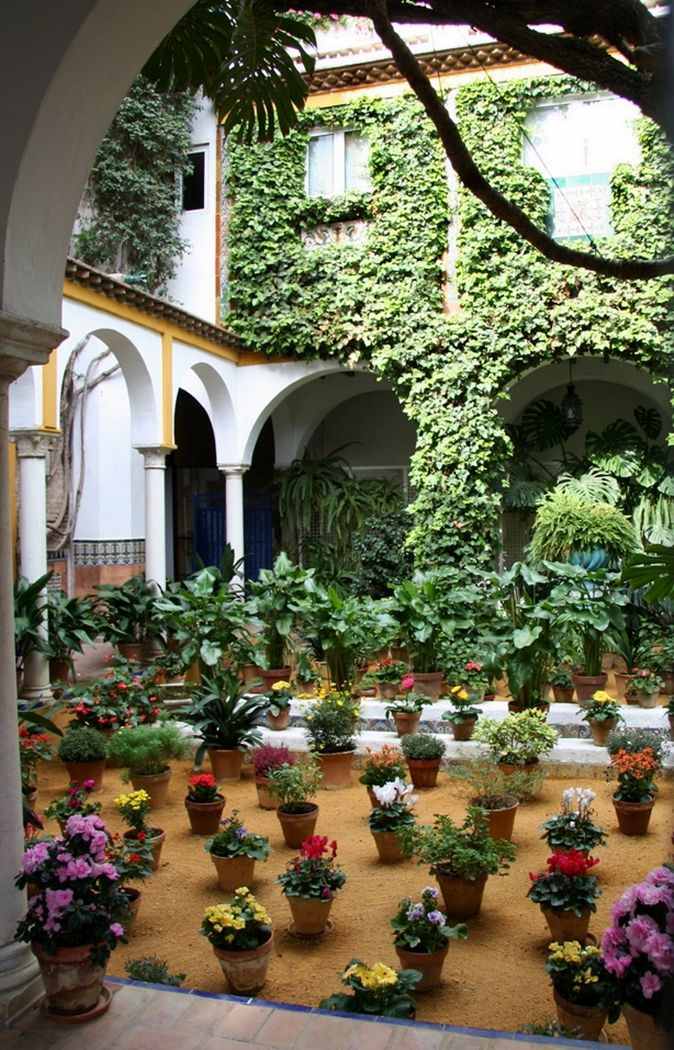 A Beautiful Patio In Sevilla Spain By Octopuzz Sevilla Spain Sevilla Beautiful Patios
