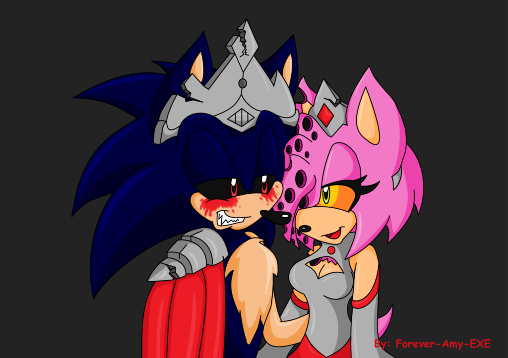 sonic exe and amy kiss fanfiction