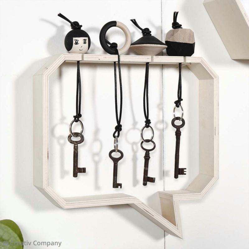 Tuto Brico Creer Un Range Cles Original Idees Conseils Et Tuto Decoration Range Cle Boite A Cles Boite A Clefs