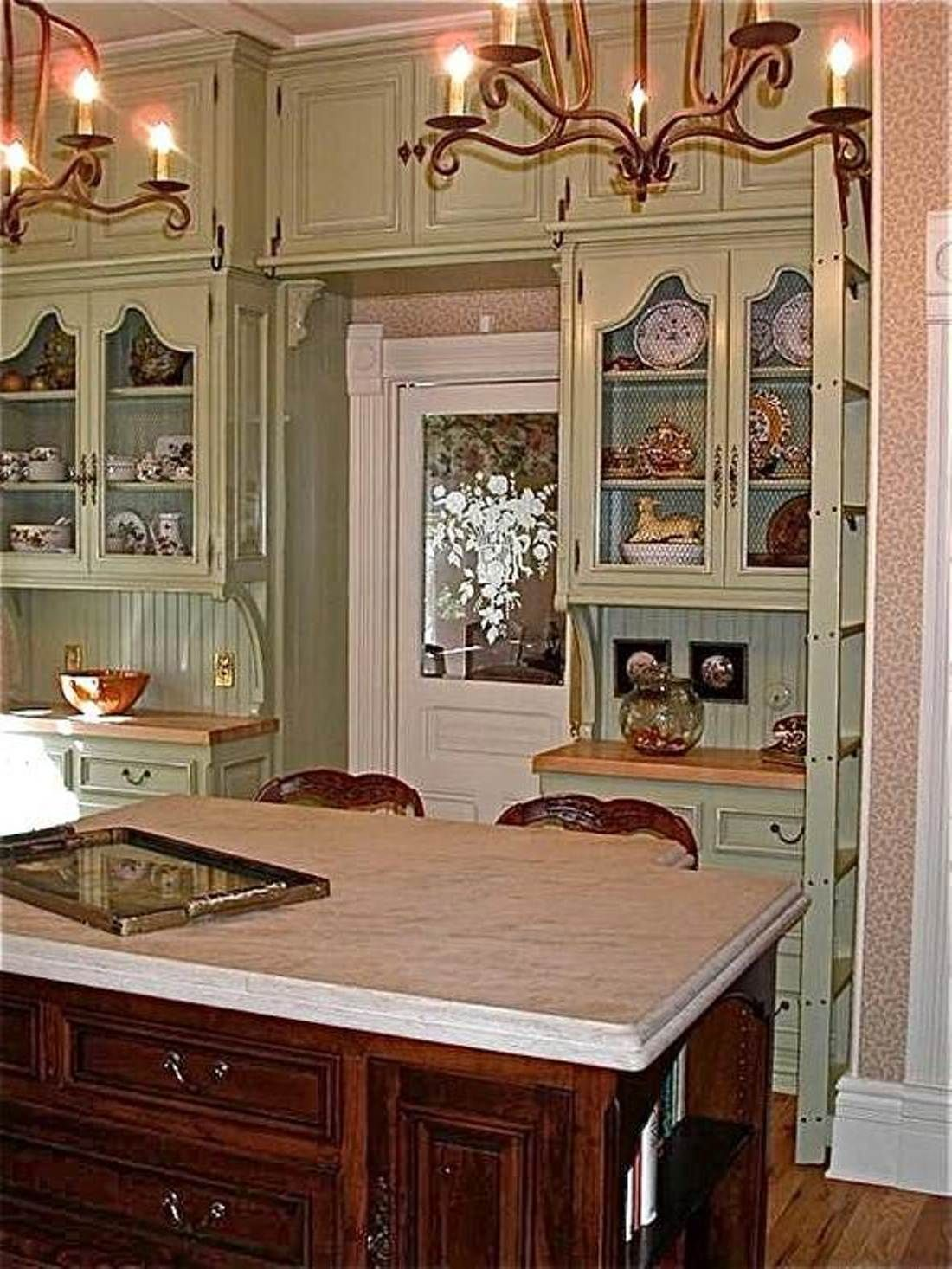 Nice Victorian Style Kitchen My 1920 39 S Home Pinterest Upper Cabinets Victorian And Beads