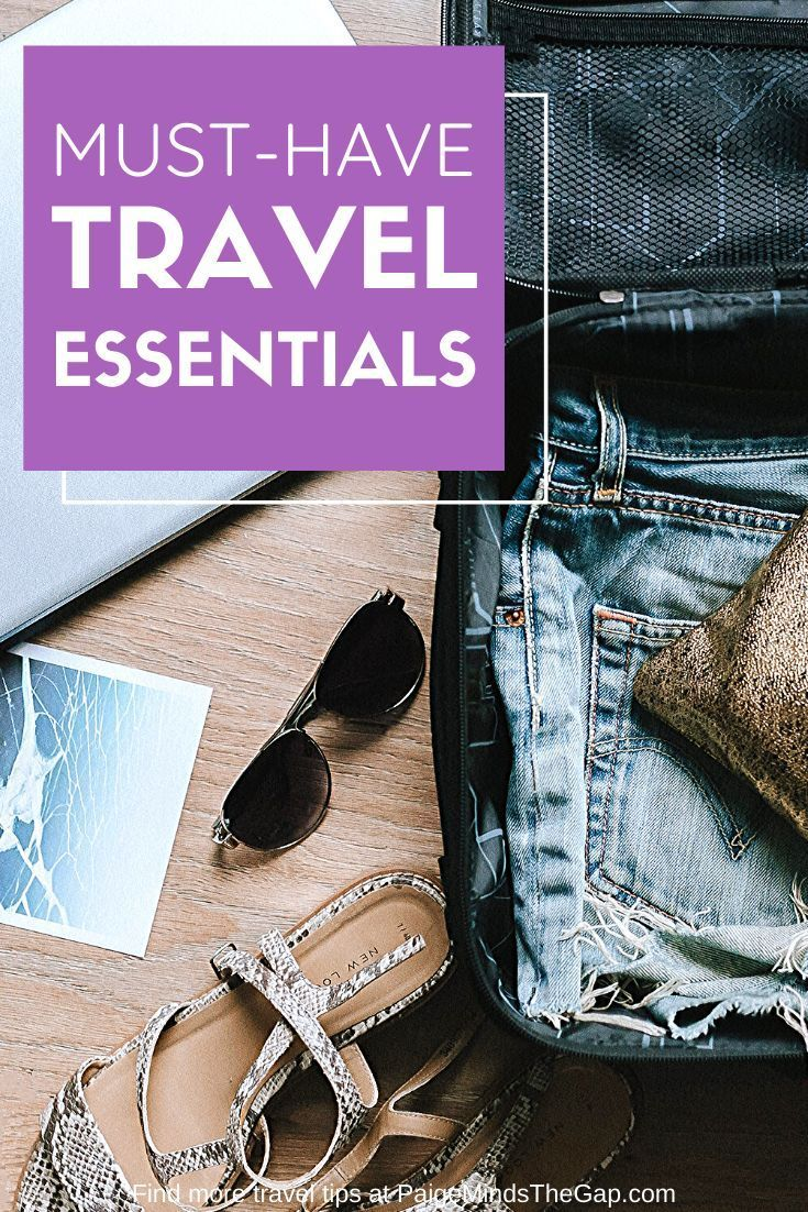 Packing Essentials für jeden Urlaub | Paige denkt an die Lücke   – Travel Gear | Reviews, Guides & More