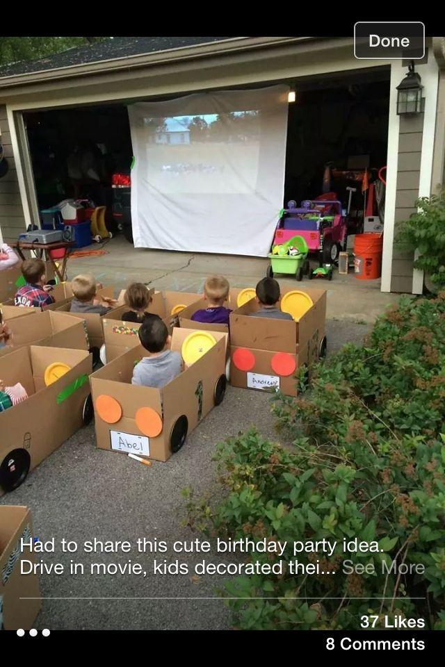 Precious birthday Party idea xo
