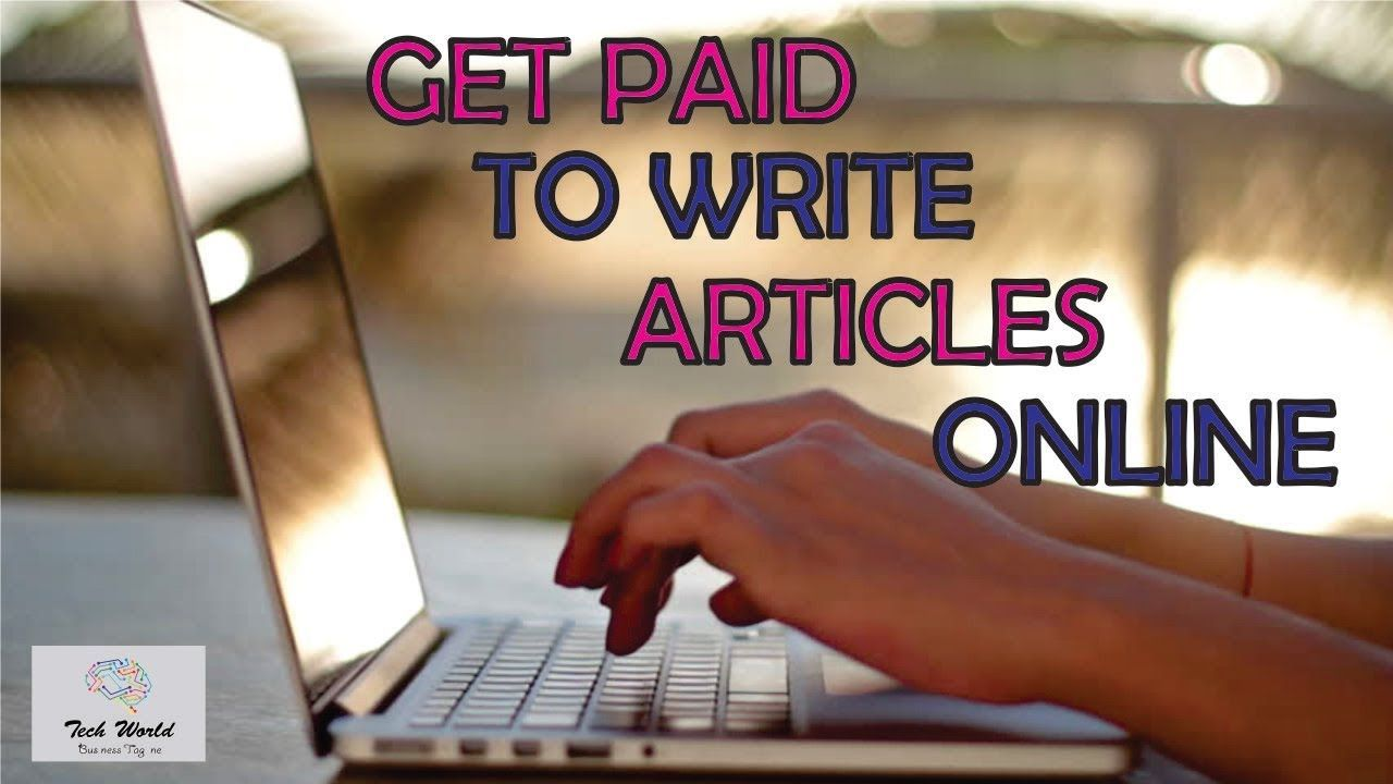 Online Article Writing Jobs Writing jobs, Article