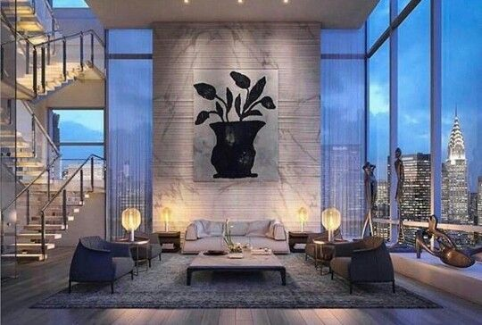 Pin By Leyi Glam On Rich Life Apartment Interior Design Apartment Design Luxury Apartments
