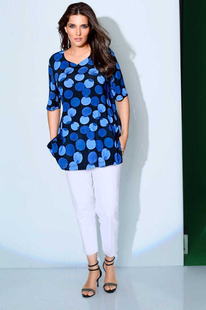 more photos 50356 65ae4 Slinkyshirt Art 70881370 #elegant #ullapopken #blau #blue ...