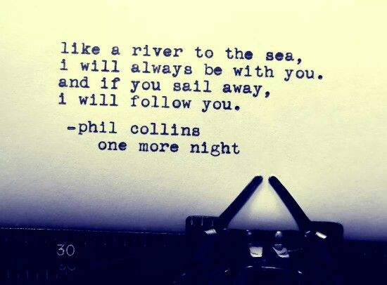 Phil Collins One More Night Great Song Lyrics Lyrics To Live By Love Songs Lyrics