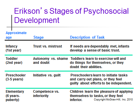 a paper on freuds and eriksons theories on stages of child development Freud's and erikson's perspectives on human development essay  moreover, freud thought that if a child  of psychosexual stages, erikson's theory, that of a .