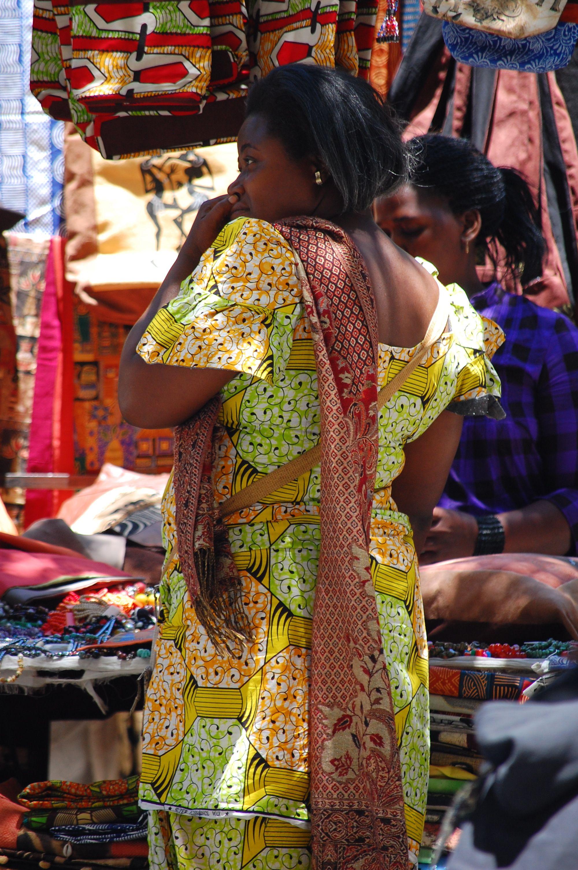 Long Street Outdoor Markets Capetown South Africa
