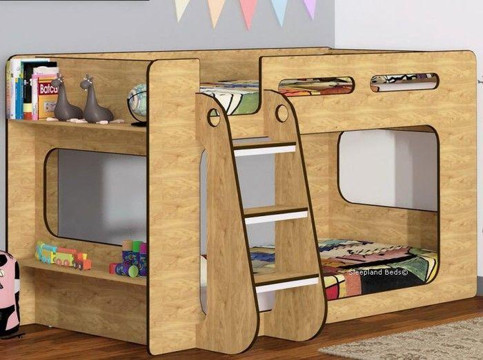 Shortie Low Height Bunk Beds Sleepland Beds Storage Solutions