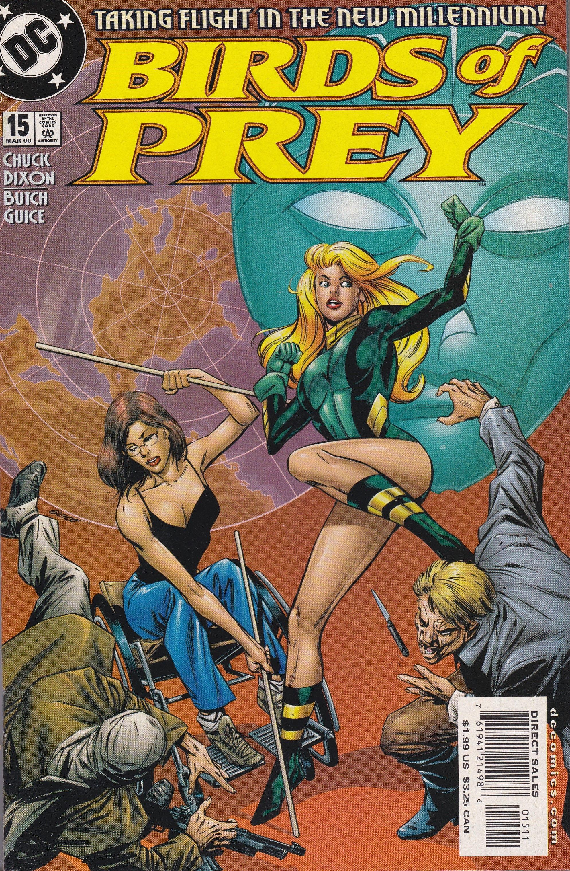 Birds Of Prey 15 Dc Comics Vol 1 Prey Dc Comics Comic Book Covers
