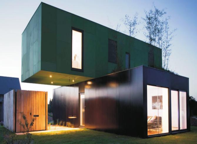 Casa contenedor arquitectura casas contenedores casas - Casas de contenedores maritimos ...