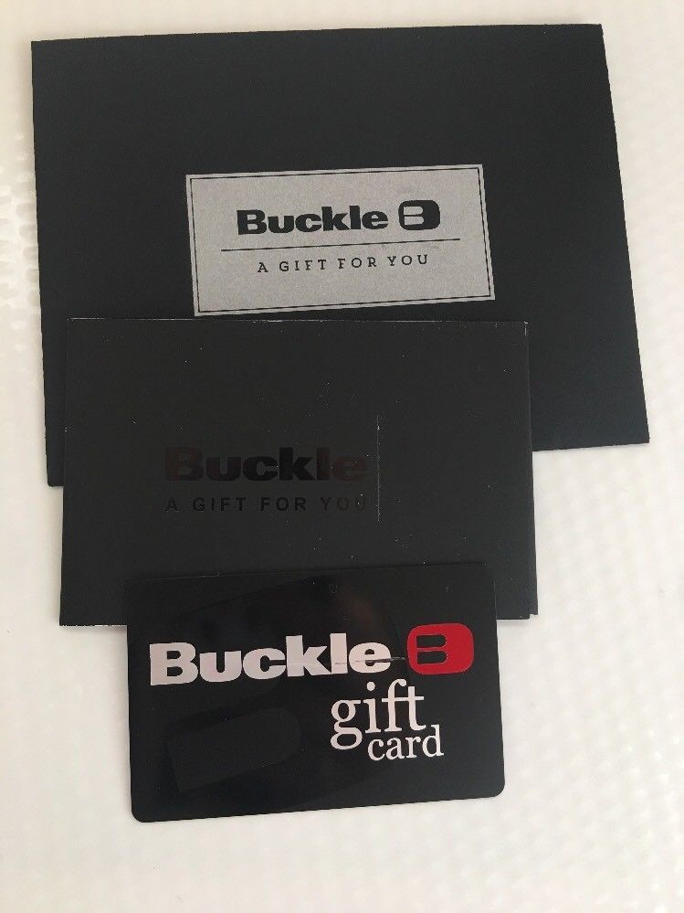 buckle gift card for sale is a 100 value buckle gift card pay 20 off 6045