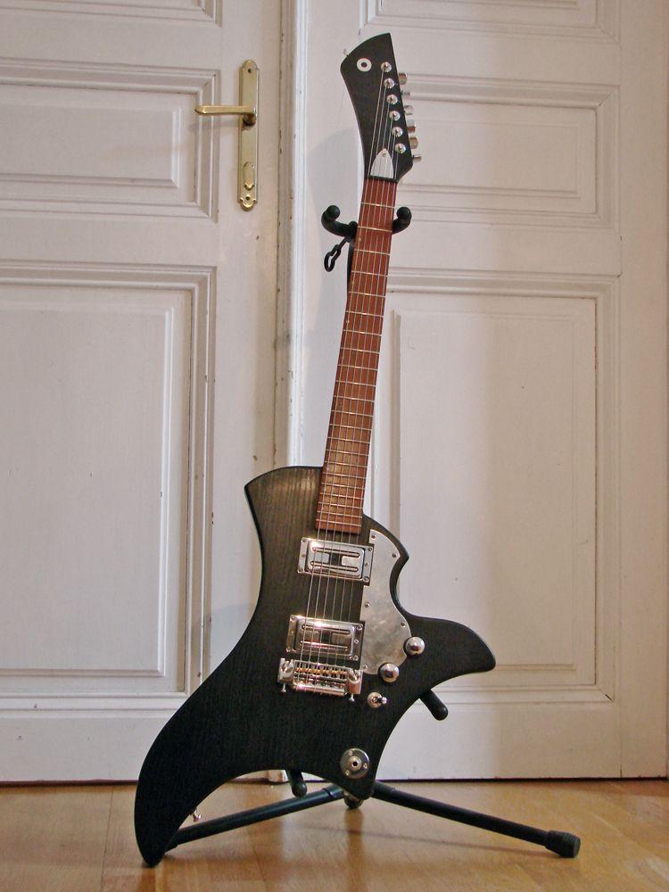 Guitar Blog: Epsilon prototype