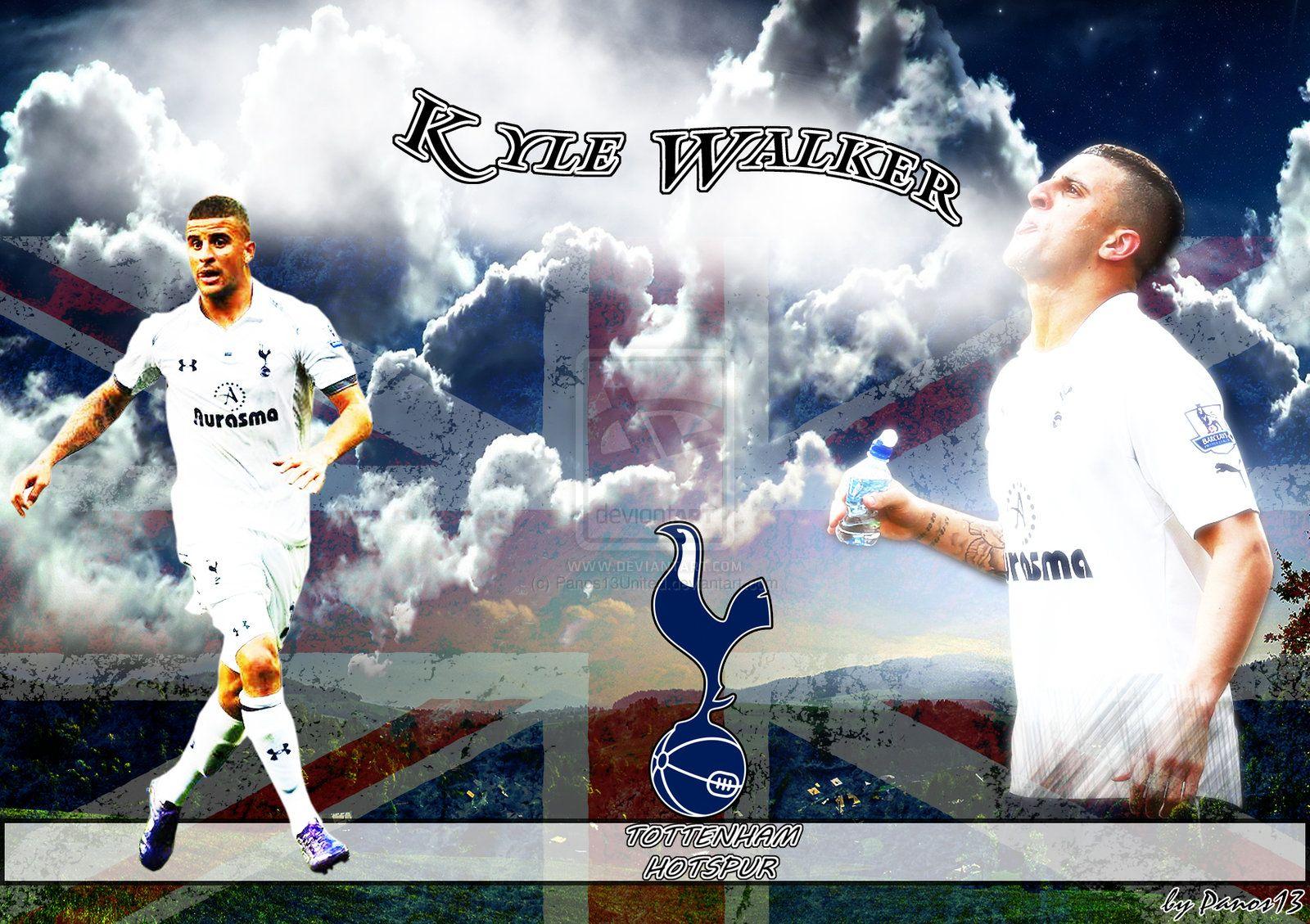 Kyle Walker Tottenham Hotspur HD Wallpaper