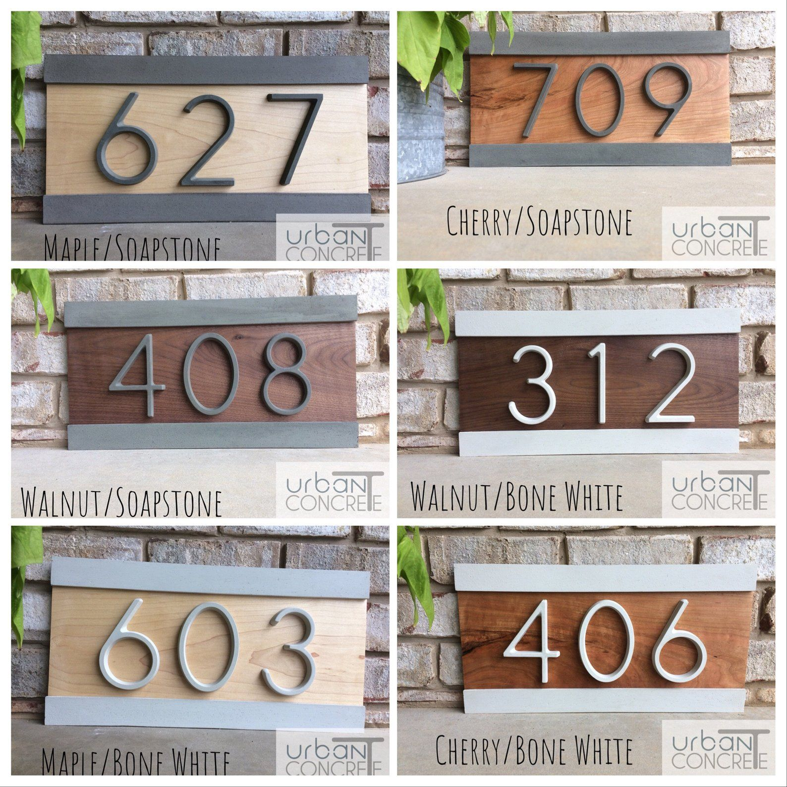 Modern House Numbers House Numbers Sign Address Etsy Modern