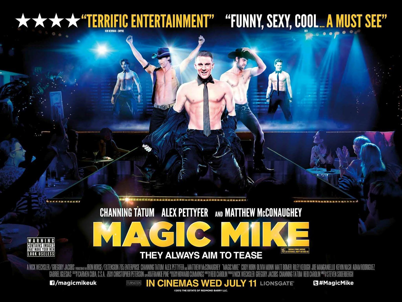 magic mike poster | Magic mike movie, Magic mike, Channing tatum