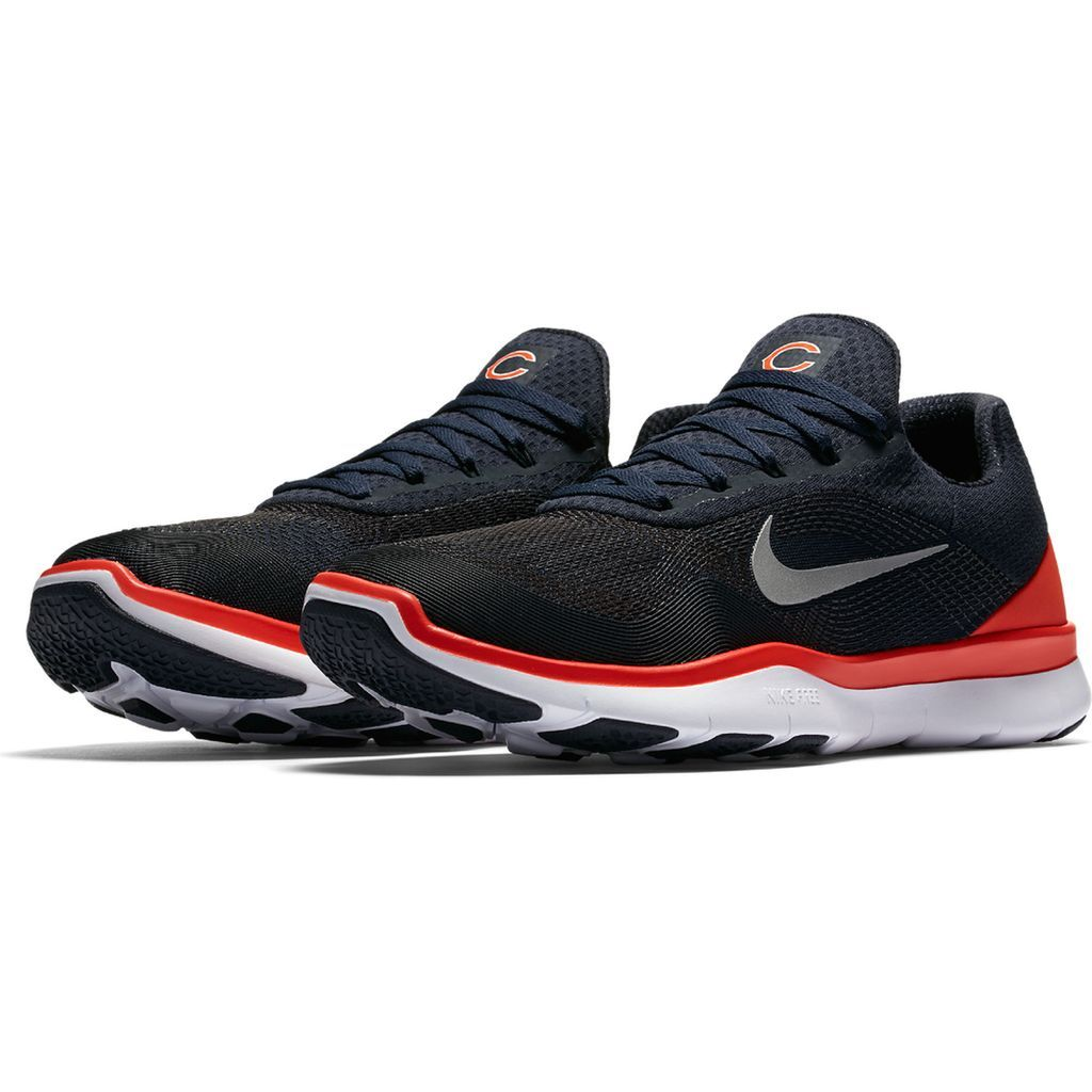f15a37d4 Chicago Bears Nike NFL Free Trainer V7 Week Zero Shoes | Sports ...