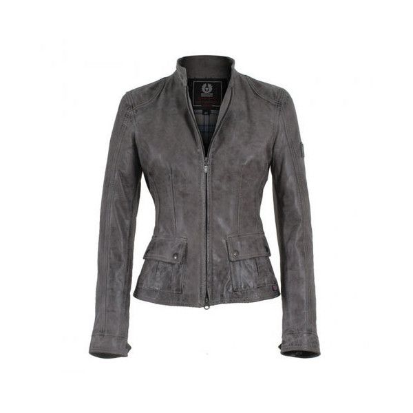 Belstaff Leather Jacket Polyvore