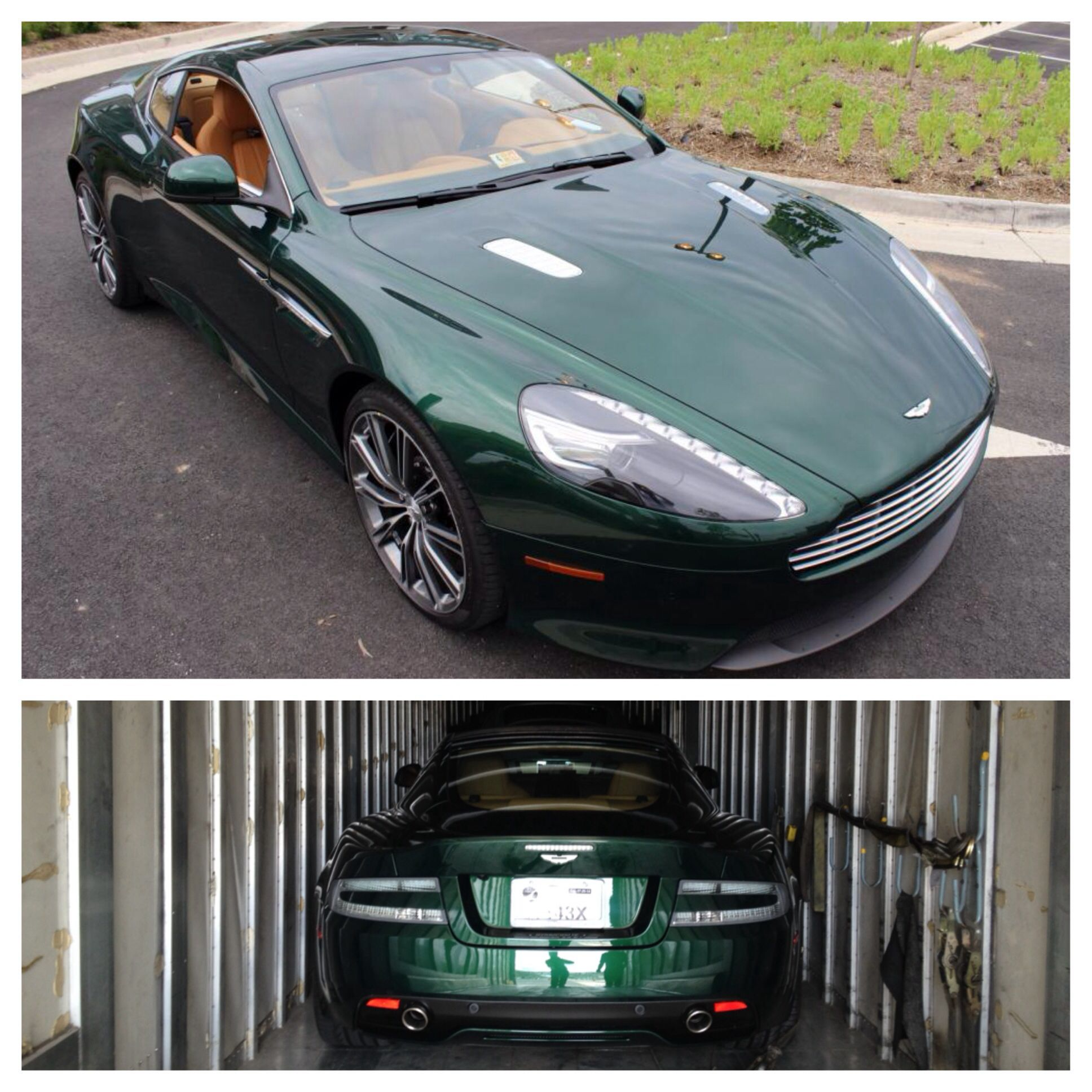 Aston Martin Db9: Albert, Congratulations, Your 14 Aston Martin DB9 Coupe In